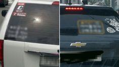 프로불편러들도 박수 치게 만든 차량 스티커