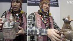 (영상) 유물을 천천히 움직이자 '늑대 소리에서 사람의 비명까지'…  경이로운 잉카의 보물