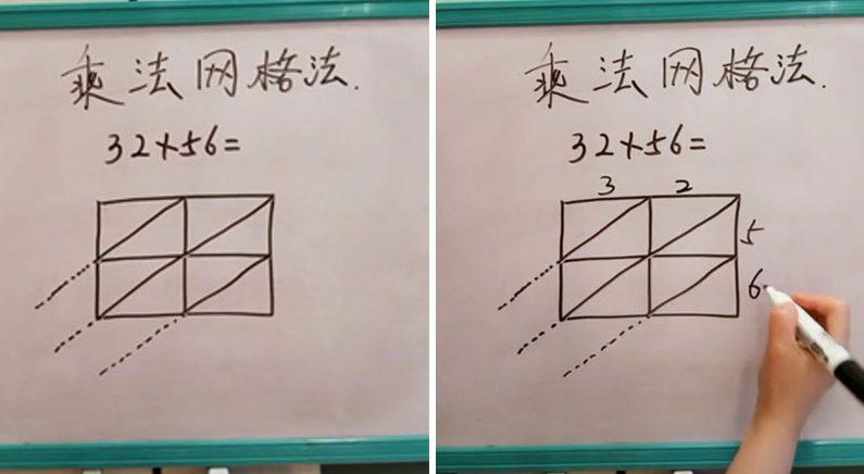 보기만 해도 이해되는 두 자리 곱셈법(영상)