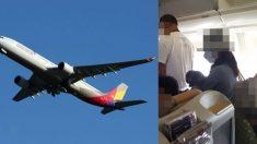 아시아나 여객기에서 강아지 꺼낸 여성 승객 '파문'