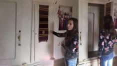 (영상) '일반 옷장인 줄 알았는데'… 문을 열고 한 걸음 내디디면 펼쳐지는 소녀의 나니아 연대기