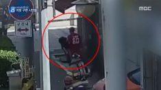 화재 현장서 입주민 구해낸 의인..알고 보니 영화배우(영상)