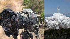 나사 로켓 발사 장면 찍다 녹아버린 카메라..사진은 건졌나