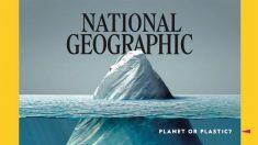 빙산인 줄 알았는데..더 심각한 환경문제 일깨워준 美잡지 표지