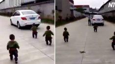 (영상) 아빠가 회사에 지각할 수밖에 없었던 가슴 몽글몽글한 이유