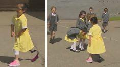 한쪽 다리 없는 친구 본 7살 아이들의 반응은? (영상)