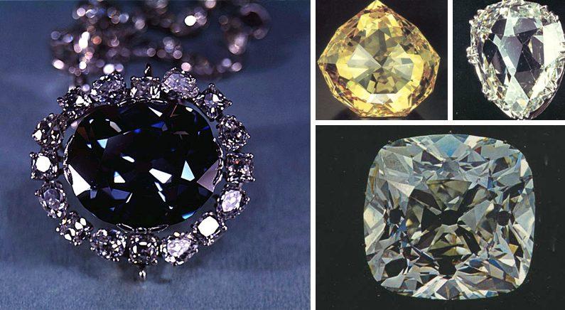 저주받은 4개의 '블러드' 다이아몬드