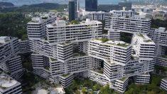아찔해도 멋진 싱가포르 '이색건물'(영상)
