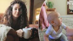"""(영상) """"누구시죠..?"""" 4년 만에 헤어스타일 바꾼 엄마를 본 아기의 반응"""