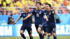 일본, 콜롬비아 2-1로 제압..아시아팀 남미에 첫승리