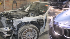 (영상) 당장 폐차장 보내야 할 상태로 망가진 BMW, 장인의 손길 거쳐 재탄생