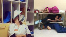 과로로 잠든 레지던트 옹호하는 '#나도 잠들었다' 해시태그 운동