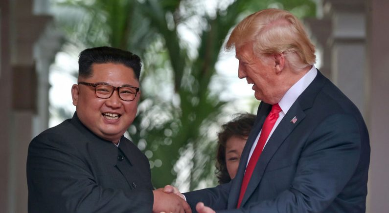 속보에 속보..트럼프-김정은 북미정상회담 발언 정리