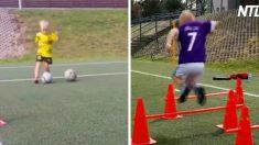 (영상) 베컴도 긴장시킬 최연소 축구 스타, 월드컵 출전을 꿈꾸다
