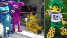 다시 보는 역대 '월드컵 마스코트' 총집합(영상)