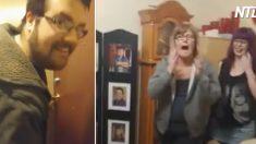 (영상) 세 남매가 엄마에게 준비한 선물, '15년 만에 셋이 모여 엄마 놀래드리기'
