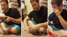 (영상) 14개월을 준비한 크리스마스 선물 하나로 남편 울리기