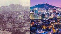 사진으로 보는 세계 유명 도시의 '과거와 현재'