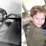 '2차대전 전투기 조종사의 환생이라는 소년'