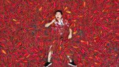 '청양고추보다 더 매운' 중국 고추 먹기 대회