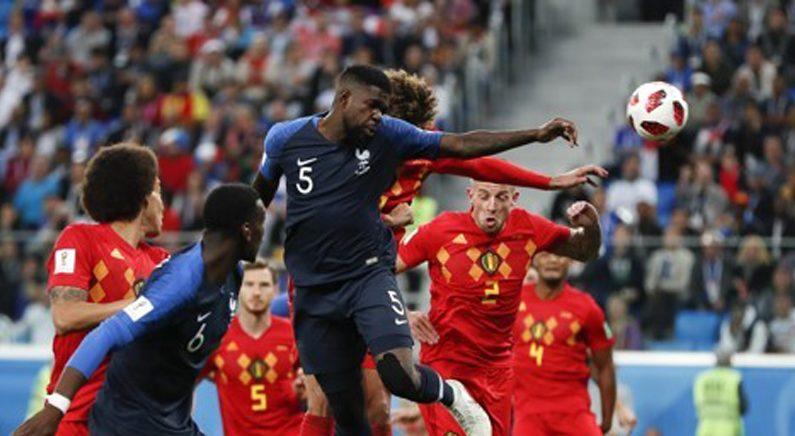 '움티티 결승골' 프랑스, 벨기에 꺾고 12년 만에 결승 진출
