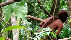 아마존 열대우림서 홀로 고립생활하는 원주민 사진 공개