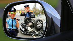 차량 이용의 에티켓 안전벨트, 경찰 아저씨도 필수일까(영상)