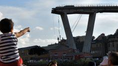 이탈리아 고속도로 대형교량 붕괴…차량 수십 대 추락