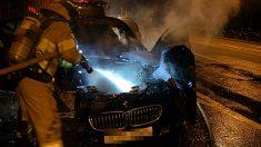 BMW 화재 주말 연속 두 차례…'120d' 모델은 첫 화재
