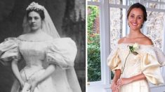 할머니·엄마·딸 이어진 웨딩드레스, 현대감각 리폼