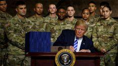 트럼프, 주한미군 철수 제한 담은 국방수권법에 서명