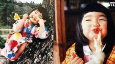 카메라 전혀 의식 않는 복고풍 사진으로 SNS 화제 된 시골 소녀 (영상)
