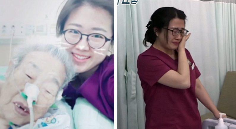 정성스레 돌보던 할머니의 '빈 침대' 보고 눈물 쏟은 간호사