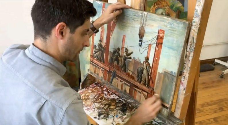 인내심 필요한 섬세한 작업..오래된 미술작품 복원 전문 예술가들