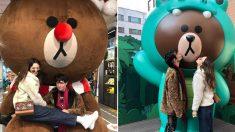 영화홍보차 한국 방문해 서울에서 놀고 있는 에즈라 밀러와 수현 근황