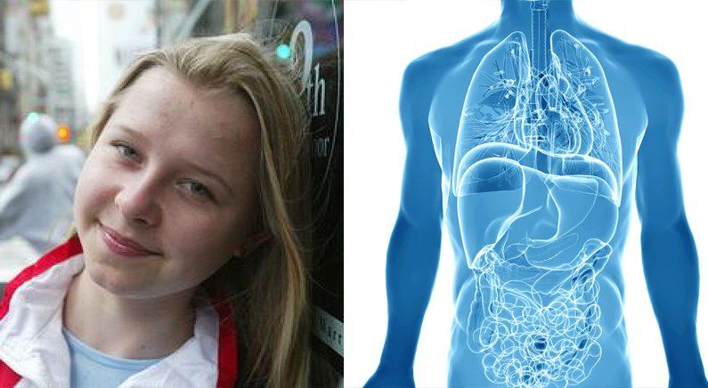 맹장 수술 후 인체투시 초능력이 생긴 10살 소녀