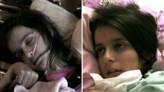 '식물인간' 딸이 4년만에 깨어나 말한 '첫 마디'