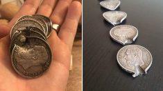 1차대전 참전 병사 위험에 빠뜨렸다가 살린 동전들