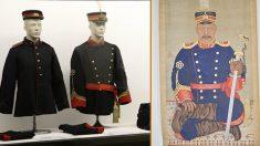 대한제국 장교가 입던 군복 세트 세상에 나왔다