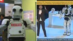 """""""영화 '로봇G'와 똑같네"""" 사람이 들어가서 춤춘 러시아 '첨단로봇'"""