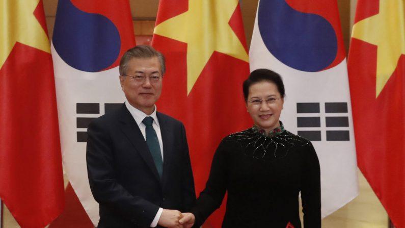 문대통령, 오늘 베트남 국회의장 접견…신남방정책 논의