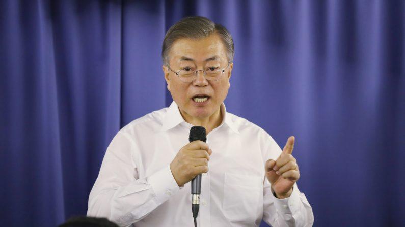 """문대통령 """"김정은 연내답방 가능성 열려있다…그의 결단에 달려"""""""
