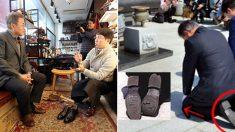 문대통령, 젊은 창업가·미래 수제화 장인 격려…청년 氣살리기