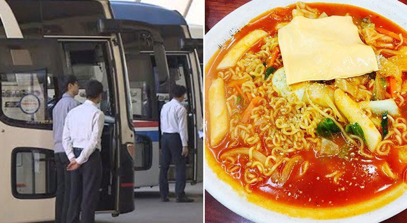 '이걸 주문하면 저걸 포기해야 해' 분식집에서 고민하던 초등학생 2명에게 선뜻 음식값 보태준 고속버스 승무원