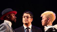 '킥 날리면 벌금 55억' 복싱전설 메이웨더 VS 일본 킥복싱 천재의 대결