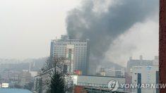 '천안 호텔' 화재 유일한 사망자는 최초신고자인 호텔직원
