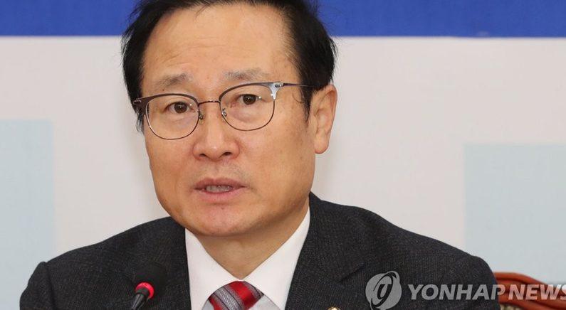 """홍영표 """"김정은 답방·국회 방문 환영 결의안 추진 요청"""""""
