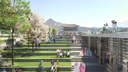 서울시, 새로운 광화문광장…국제설계공모 당선작 공개