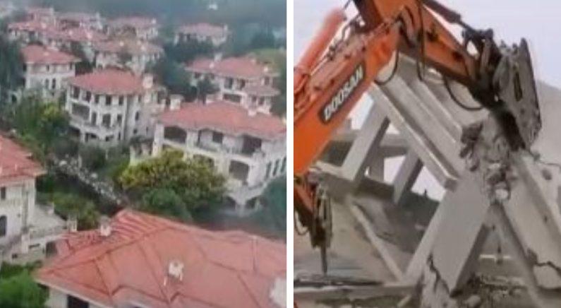 시진핑 지시 불복, '백두산 난 개발' 건물 187채 철거