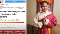 캐나다 대학 '티베트계' 학생회장 당선에, 중국 유학생들 집단 반발